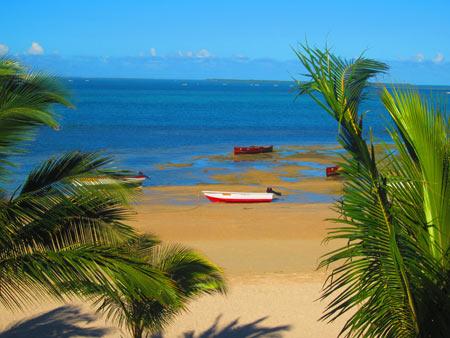Plage de l'île Rodrigues