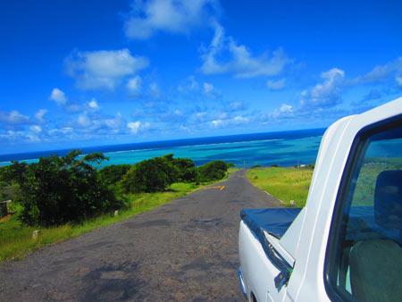 Paysages de l'île Rodrigues