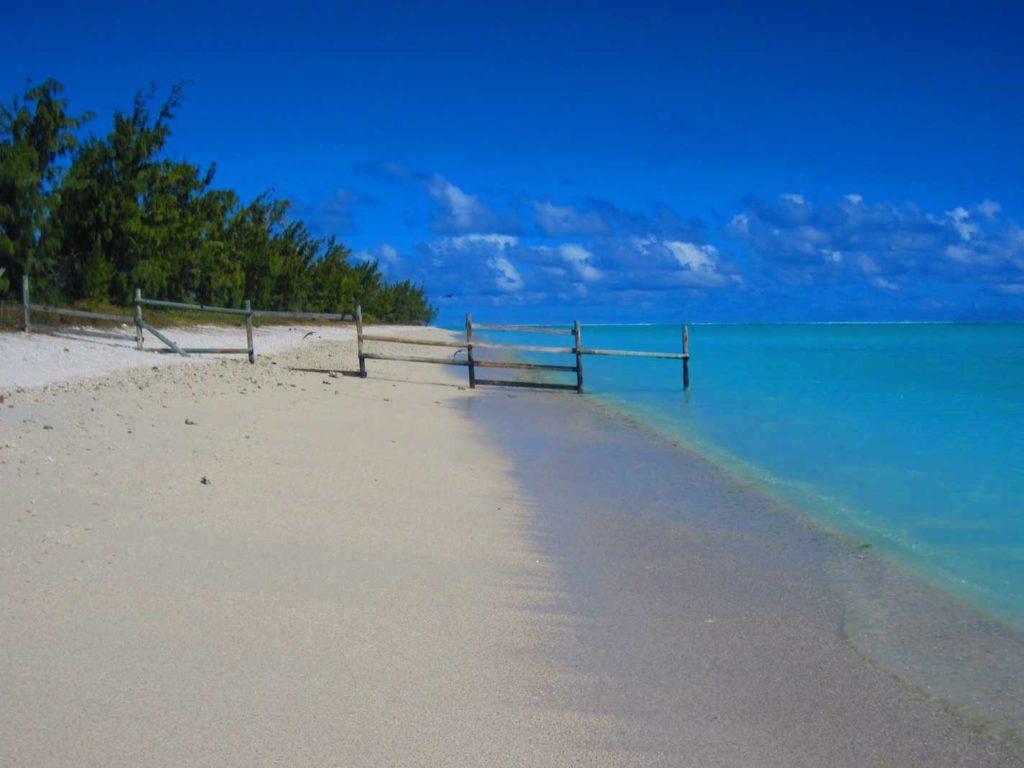 Plage île aux Cocos